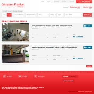 Corretores Premium - Listagem de imóveis