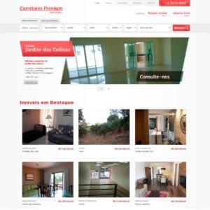 Corretores Premium - Página Inicial